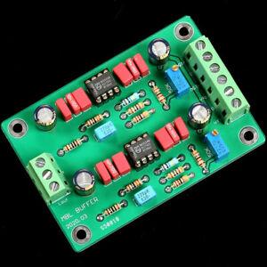 MBL6010D Preamplifier Board NE5534*2 OPA Two Channel Buffer Board