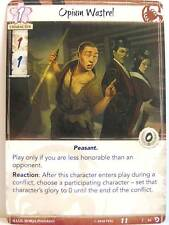 Legend of the Five Rings LCG - 1x #018 Opium Wastrel - Underhand of the Emperor