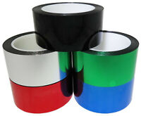 T.R.U. Mylar Metalized Polyester Film Tape with Acrylic Adhesive Multiple Colors