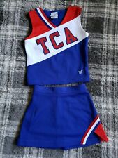 Euc Cheer Uniform By Varsity Spirit For Size Youth Small/ A-9 blue & red Tca