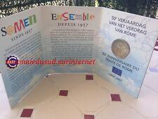 2 Euro CC Coincard BU Belgique 2007 - Traité de Rome
