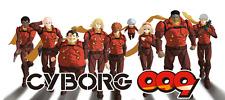 Serie Cyborg 009 celebre cartone animato anni '80 su 13 DVD di alta qualità