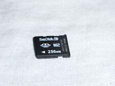 SanDisk 256MB Speicherkarte Memory Stick Micro Speicher Karte M2