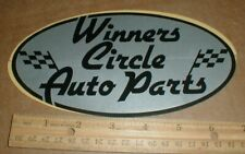 Winners Circle Auto Parts vtg old Nascar auto racing decal sticker unused rare