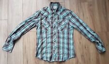 True religion long sleeve checkered shirt. Size M. Excellent condition.