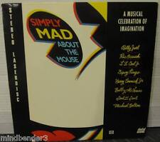 Simply Mad About The Mousel - RARE Laserdisc Made in USA - Ric Ocasek LL Cool J