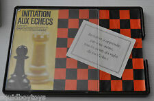 INITIATION AUX ECHECS French Chess Teaching/Learning Game Milton Bradley