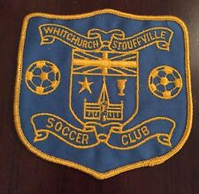1980's Whitchurch Stouffville Ontario Canada Soccer Club Patch