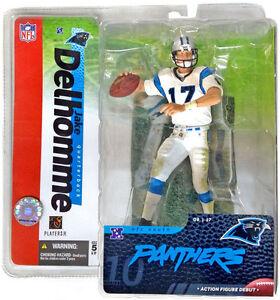 Jake Delhomme Carolina Panthers McFarlane Action Figure Debut NIB NFL 2004
