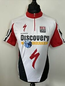 Trifemme Specialized Rock Shox Discovery Channel Cycling Shirt Jersey XL