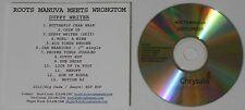 Roots Manuva  Duppy Writer  2010 U.S. promo cd  -Rare!