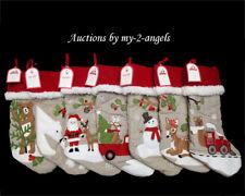 NWT Pottery Barn Kids Christmas WOODLAND Stockings YOU PICK 3 - NO MONOGRAM