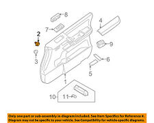 NISSAN OEM Interior-Rear Door-Door Trim Panel Clip 80999VE000