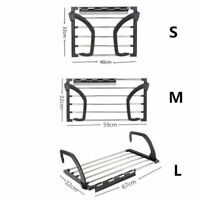 Newly Drying Rack Clothes Portable Stainless Steel Indoor Outdoor Laundry Hanger