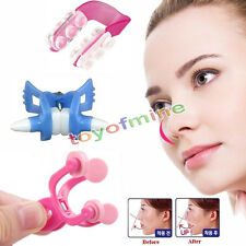 3PCS Nose Up Clip Bridge Lifting Shaping Shaper Clipper Straightening Beauty Set