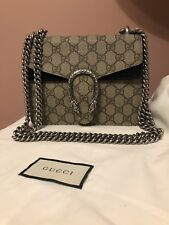 10cfab301b Dionysus GG Supreme mini bag, Gucci Bag, Gucci Shoulder Bag, Authentic