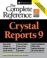 Crystal Reports(R) 9: The Complete Reference, Peck, George, Good Condition, Book