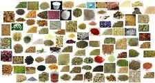 Apothecary Herbs SAMPLES Dried Herbs Wicca Chakra Reiki Healing 94 Choices
