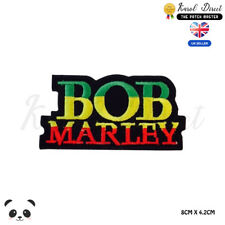 BOB Marley Band Embroidered Iron On Sew On PatchBadge For Clothes Bags etc