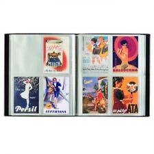 Leuchtturm 345088 Album für 400 Postkarten, schwarz, mit 50 eingebundenen Klarsi