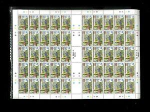 Tristan da Cunha SC# 297-300 MNH Full Sheets Cat. Wholesale