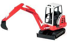 NEUF BRUDER TOYS ProSeries Schaeff HR16 Mini Tractopelle Excavateur-Bruder 02432 1:16