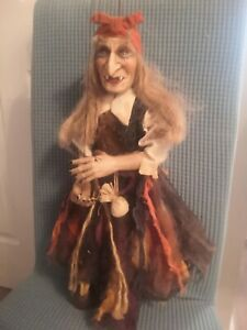 Vintage Rici Marionettes PUPPET PRO handmade CZECH Puppet