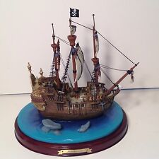 WDCC Enchanted Places Jolly Roger Ship Peter Pan Limited Edition