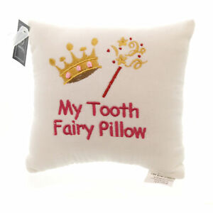 Child Related MY TOOTH FAIRY PILLOW Fabric Girl Queen Princess 8603701