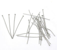 1200PCs Silver Head Pins 0.7x50mm(21 gauge)