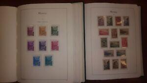 Coleccion sellos Monaco año 1919/1986  2 Tomos stamps consultar en tienda