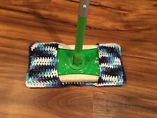 Swiffer Mop Cover Reusable 100% Cotton Crocheted Guaranteed To Fit!