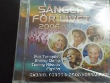 Sånger För Livet,  CD  , ELYSION,  EVIE  TORNQUIST,SHIRLEY CLAMP, TOMMY NILSSON