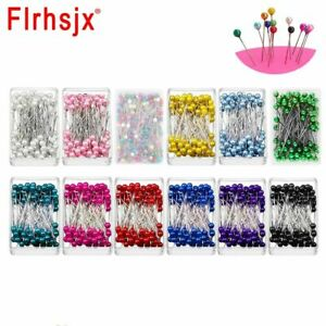Pearl Pins Straight Quilting Dressmaking Jewelry Flower DIY Sewing Supplies