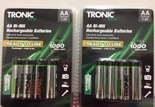 8x Tronic ECO Micro NiMH Rechargeable Batteries AA 1.2v 2300mah (8 Batteries)