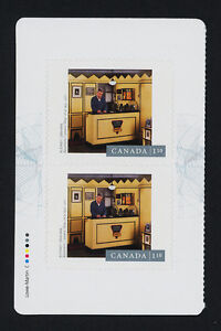 Canada 2633a Left Booklet Pane MNH Photography, Rodney Graham