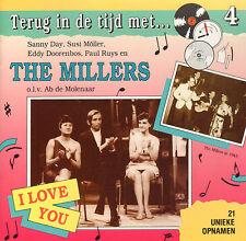 MILLERS  - TERUG IN DE TIJD MET DE MILLERS (CD MET 21 UNIEKE OPNAMEN)
