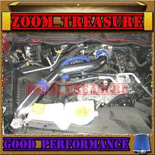 BLUE 2003-2008 DODGE RAM 1500/2500/3500 5.7 V8 HEMI FULL COLD AIR INTAKE ST3