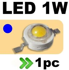 53/1# LED 1W  Bleu --- 1PC