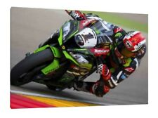 Jonathan Rea 30x20 Inch Canvas - Kawasaki ZX10-R WSBK Framed Picture Johnny