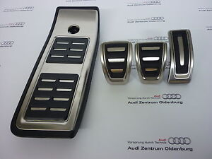 Original Audi Casquettes Kit Acier Inoxydable Pour Boite de Vitesse, Q5 Fy Neuf