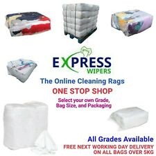 More details for cleaning rags / wipers / cloths - one stop shop - select your grade & bag size