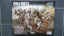Mega Bloks Call Of Duty Legacy Heroes 308 Pieces, Collectors Series.