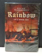RITCHIE BLACKMORE'S  RAINBOW -  LIVE AT BUDOKAN, TOKYO -  DVD  NUOVO E SIGILLATO