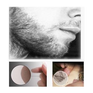Men's beard 100% Human Hair Man Fake Beard Simulation Mustache Makeup Drama