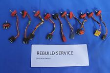 1966 and 1967 Lincoln Window Switch REBUILD SERVICE (price is per switch)