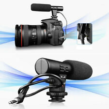 Studio Digital Video DV Stereo Recording Microphones 3.5mm for DSLR Camera