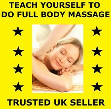 (D170) TEACH YOURSELF ALL OVER FULL BODY MASSAGE DVD