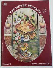 Viking Folkart The Merry Peasant Volume II Painting Design Booklet L Rowley