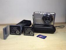 Panasonic LUMIX DMC-FX100 12.2 MP Digital Camera Battery, Mem Card, Charger Incl